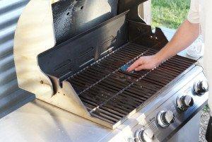 en rengöringsguide för grill och grillgaller